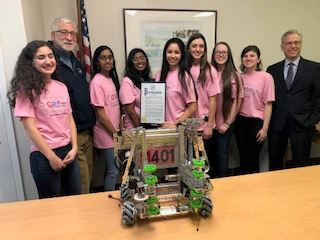 Girl Powered Robotics Team