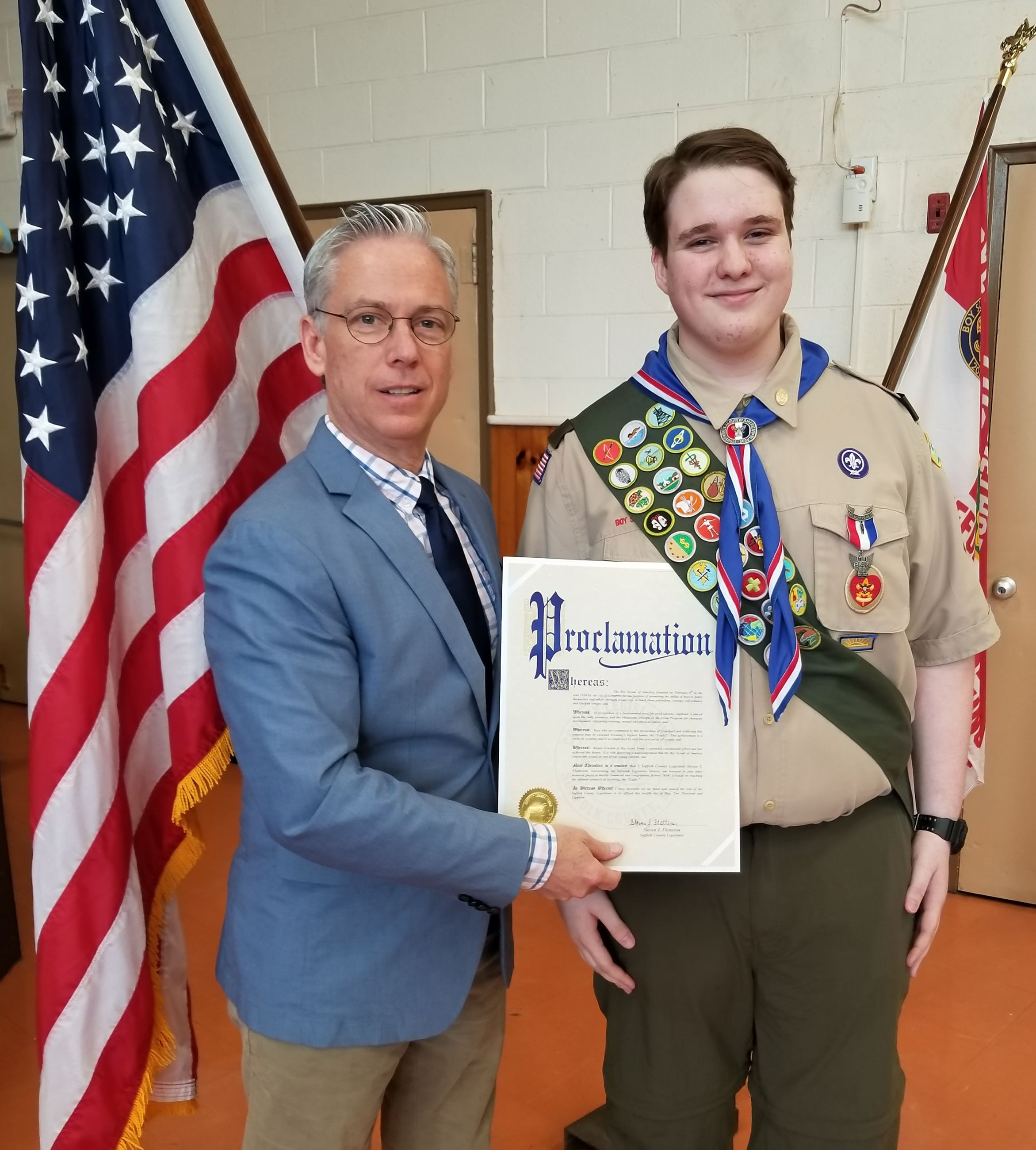 Eagle Scout Gruskin