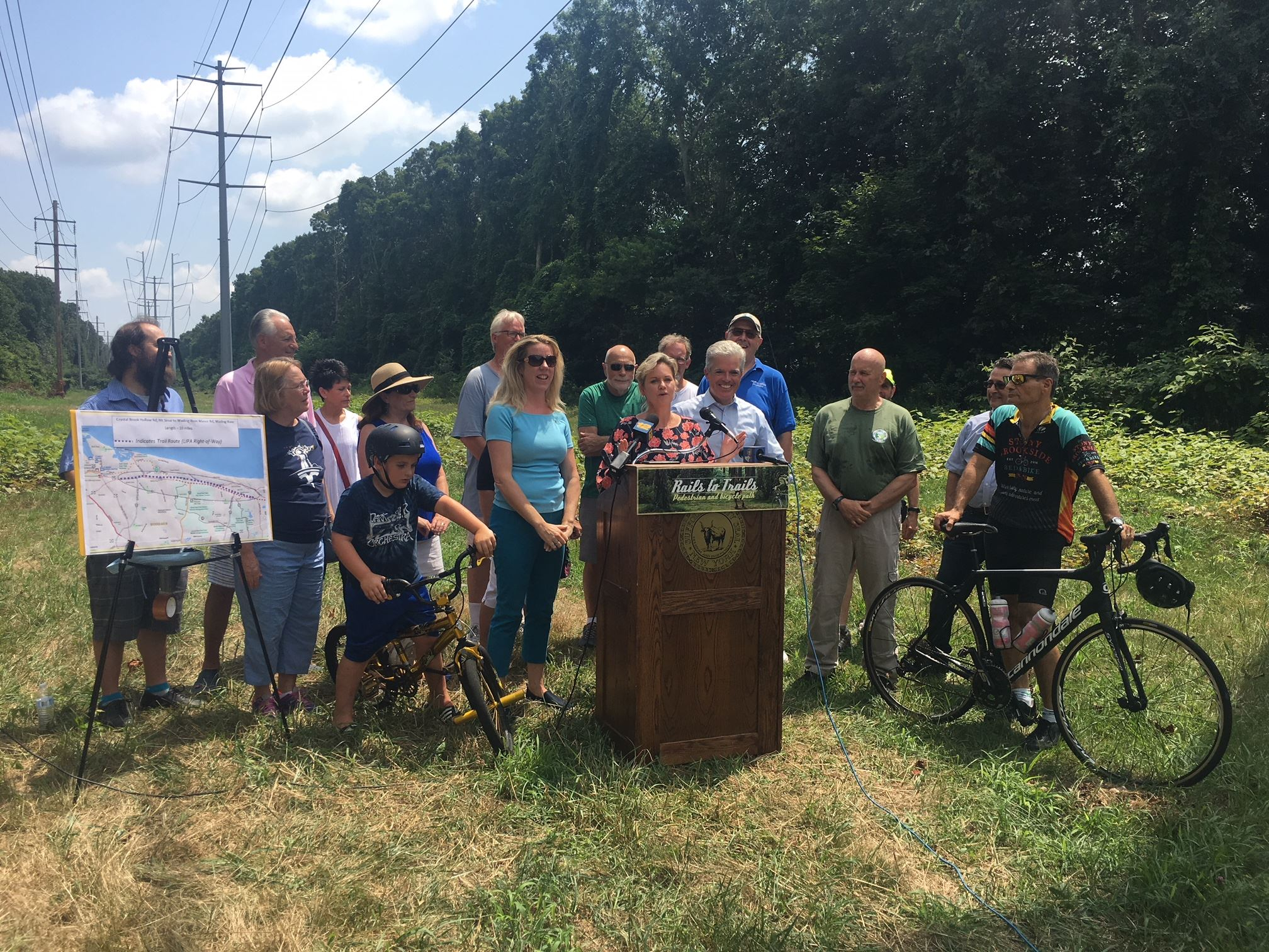 Rails to Trails Bill Signing