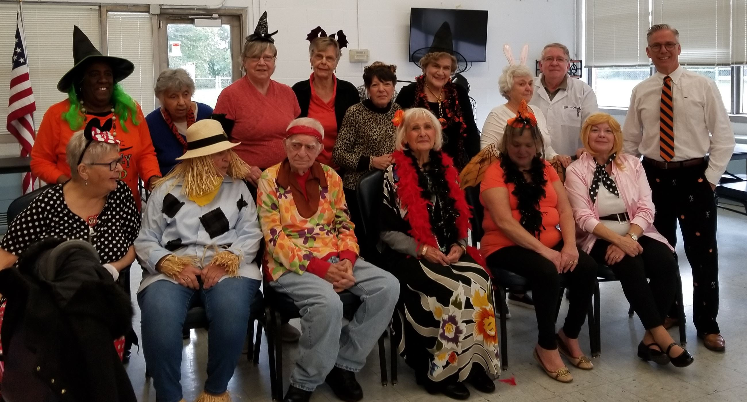 WI Senior Center Halloween Party