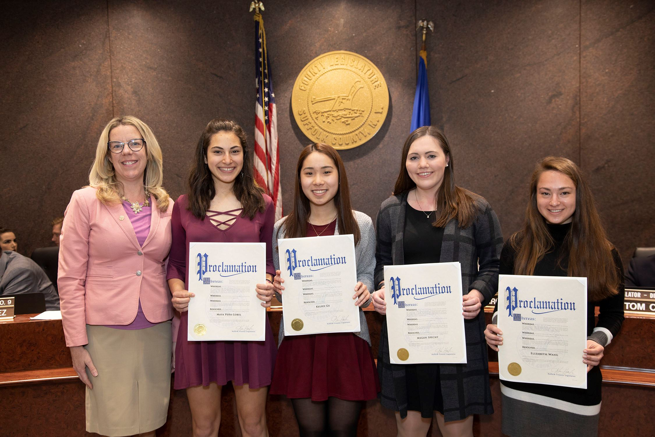 Ward Melville High School Regeneron Science Scholars Honored Image