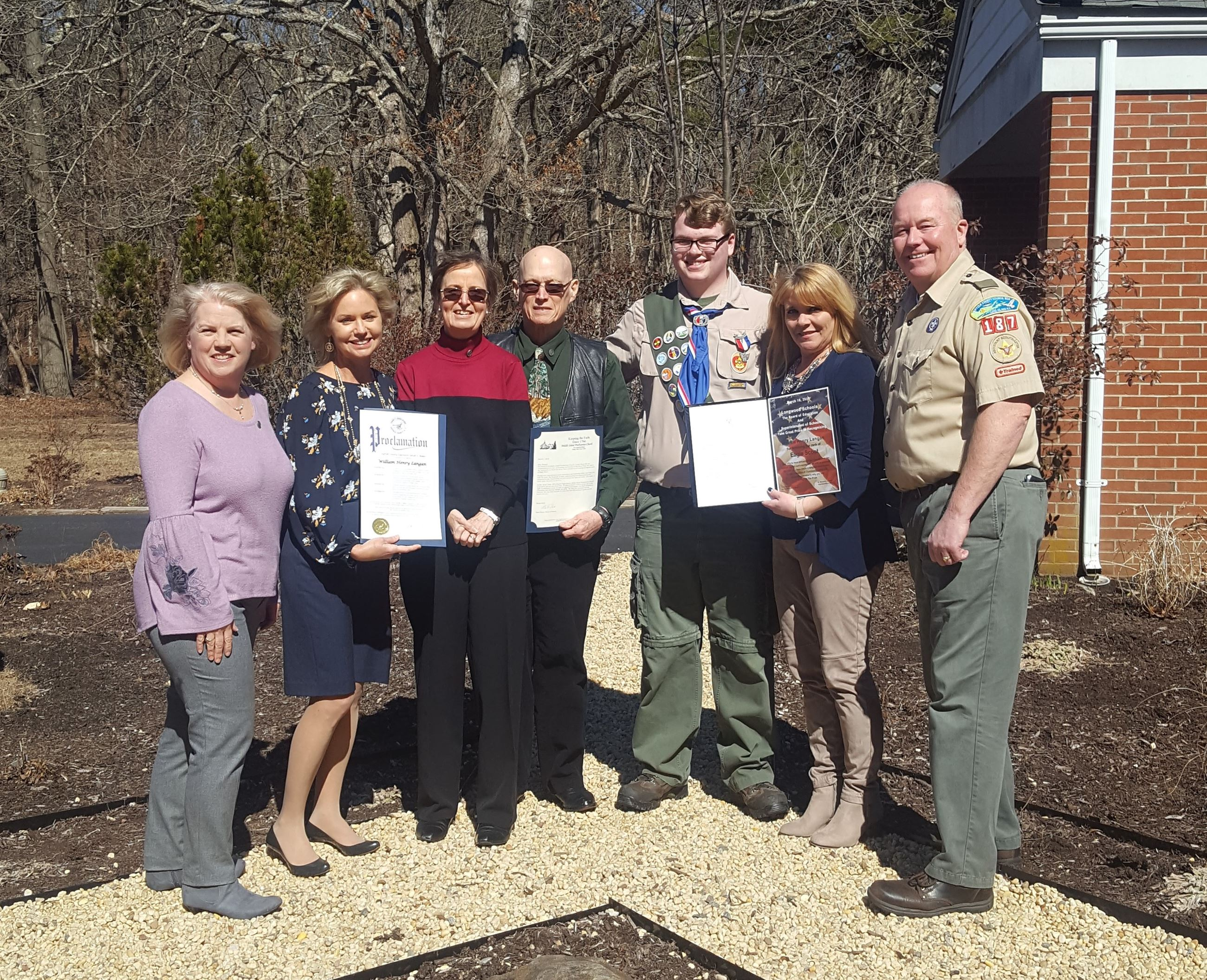 Eagle Scout William Langan