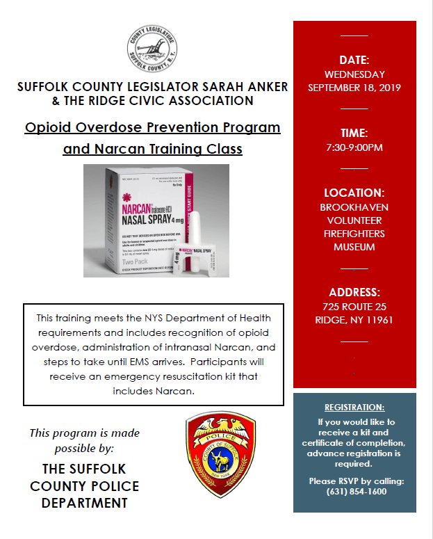 Narcan Flyer - Ridge