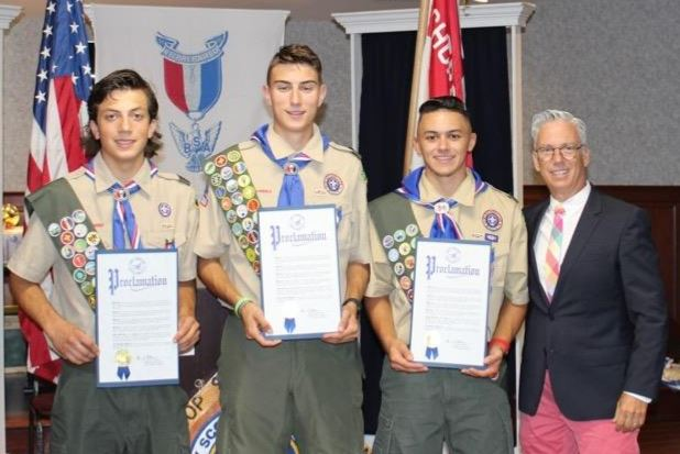 WI newest Eagle Scouts