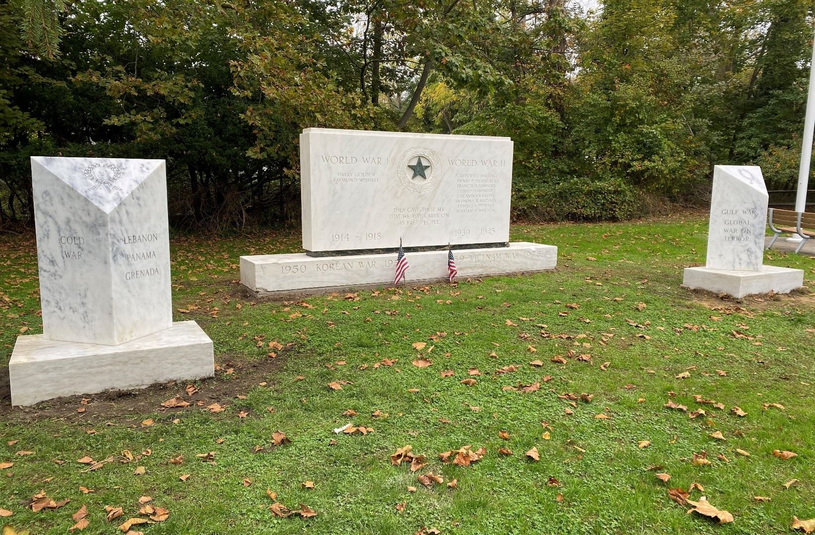 Mission Complete: Site Image of Final War Memorial Updates