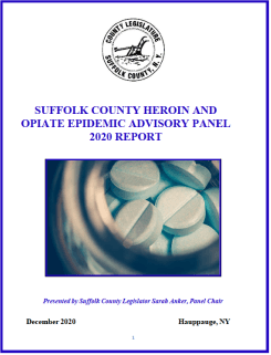 Suffolk County Heroin and Opiate Epidemic Advisory Panel Final 2020 Report