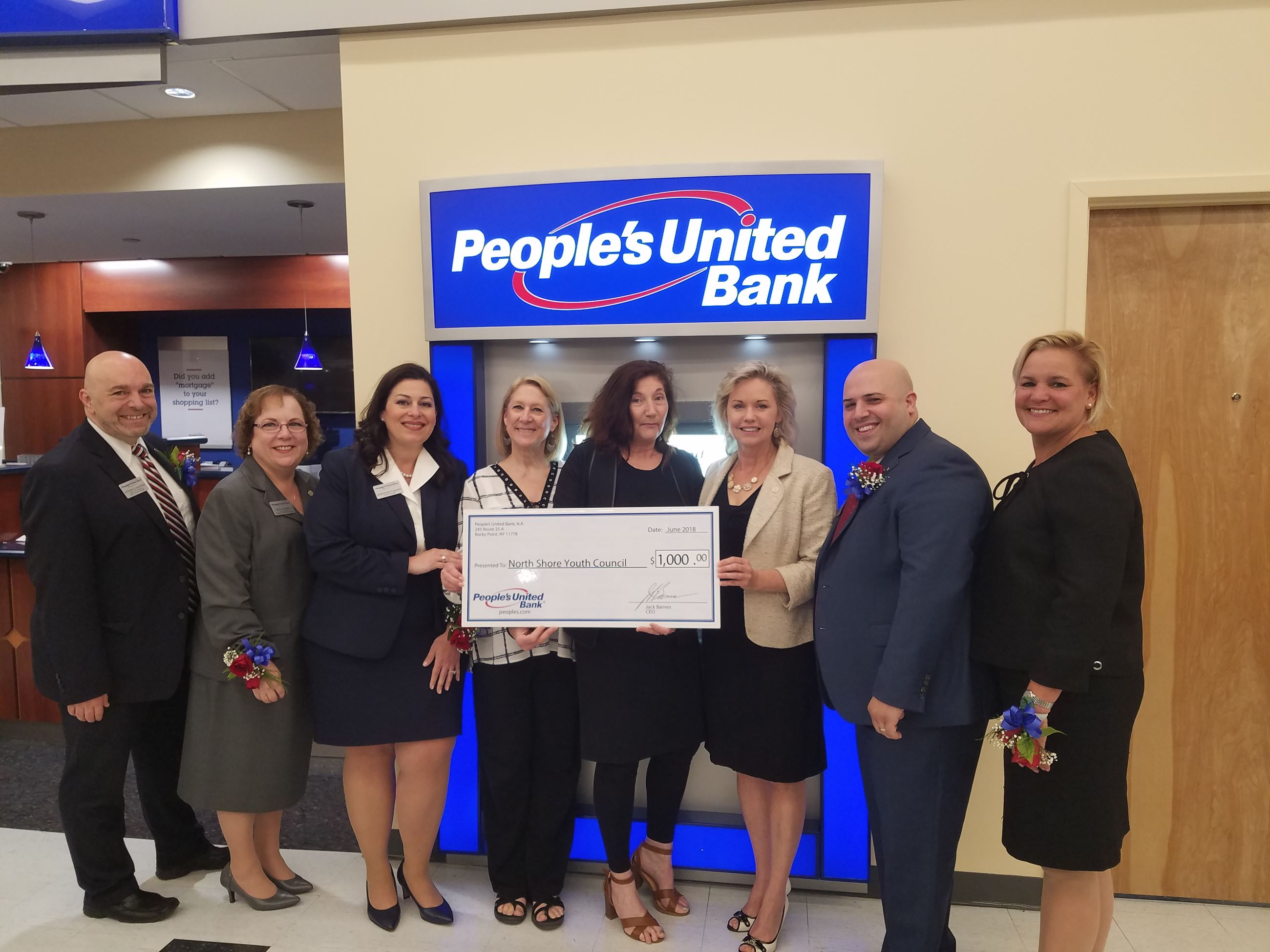 Peoples United Bank Opening